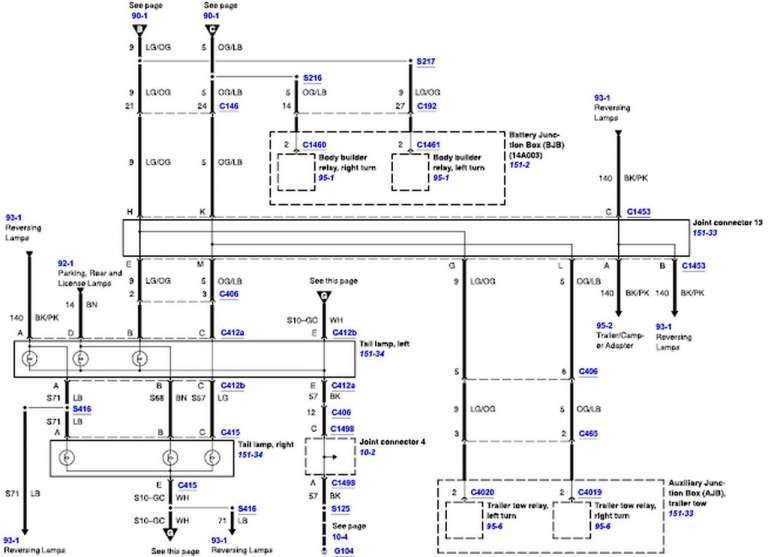 2006 F350 Instrument Cluster Wiring Diagram