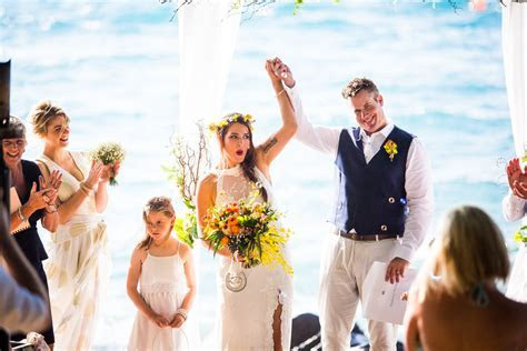 Ally and Mark   Daydream Island Resort Wedding Photography