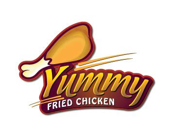 logo design entry number   brendan yummy fried