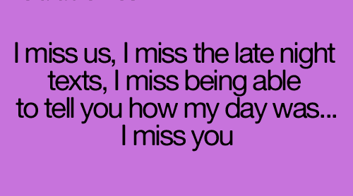 Love Cute Romantic Relationship Quote For Him I Miss Him