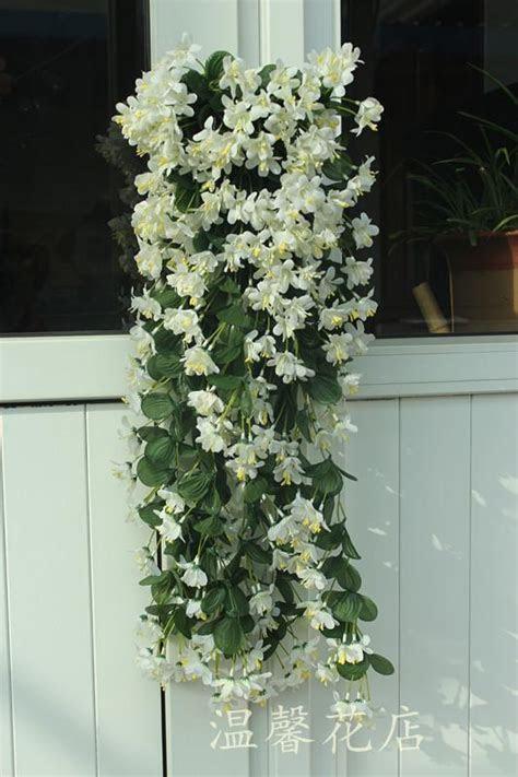 2018 1p 70cm Artificial Flower Silk Winter Jasmine Flower