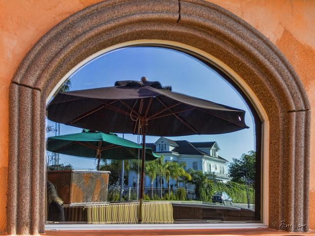 La Barca patio reflections