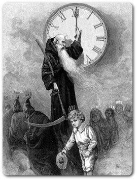 Saturn - der Gott der Zeit und der Ernte