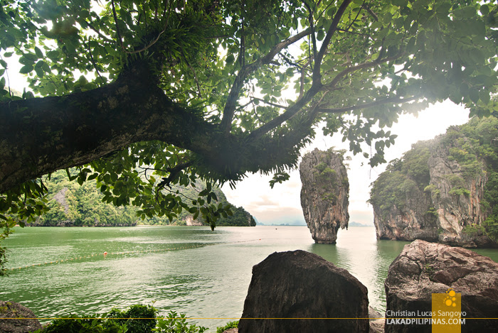 Thailand's James Bond Island at Phang Nga Bay