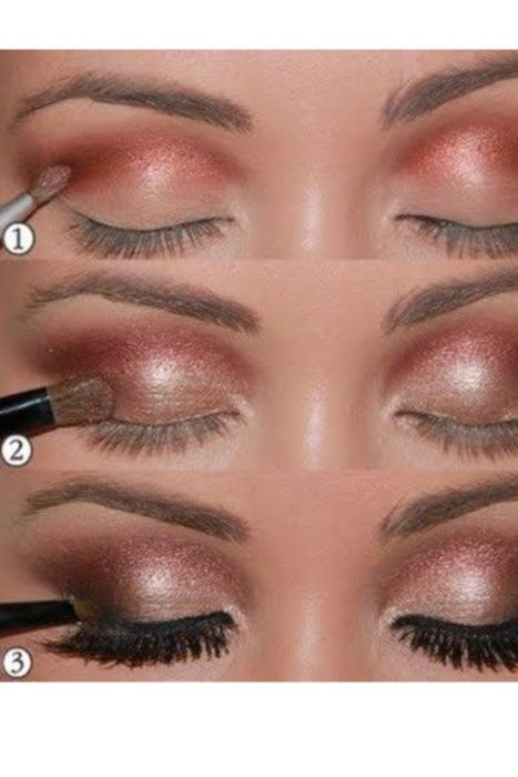 Bronze Eye Makeup Trends- great for green/hazel eyes! I love bronze and browns on my eyes