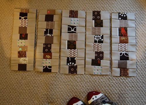 WIP: Meena's baby quilt