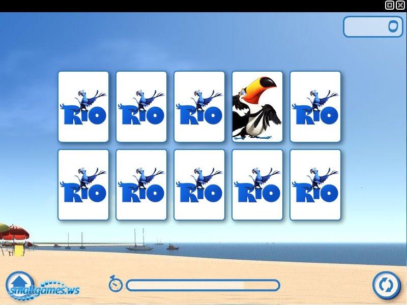 опасная выборка: пазлы рио играть онлайн