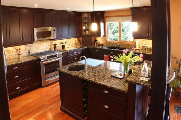 Baltic brown granite countertops - texture and charm to ...