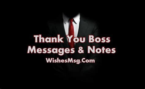 60 Thank You Messages For Boss   Appreciation Quotes