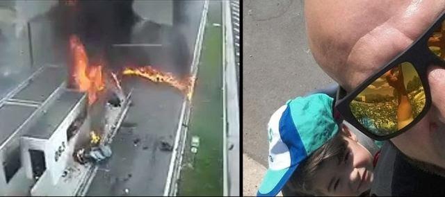 Ένα κερί στη μνήμη του παιδιού και της μητέρας που σκοτώθηκαν στο πολύνεκρο τροχαίο με την Porsche