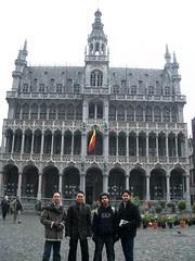 La Maison du Roi kat Grand Place, Brussels, Belgium