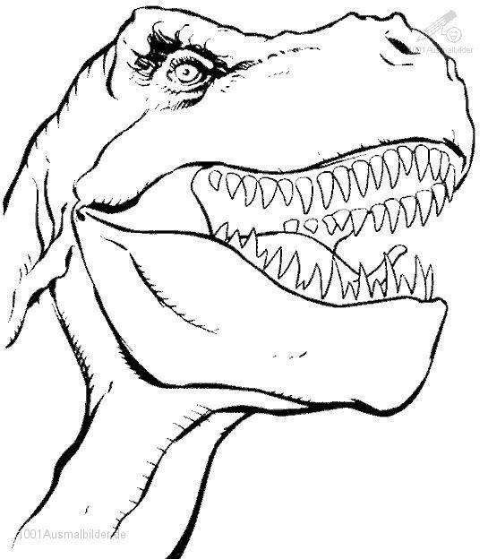 17 elegant malvorlage dinosaurier rex
