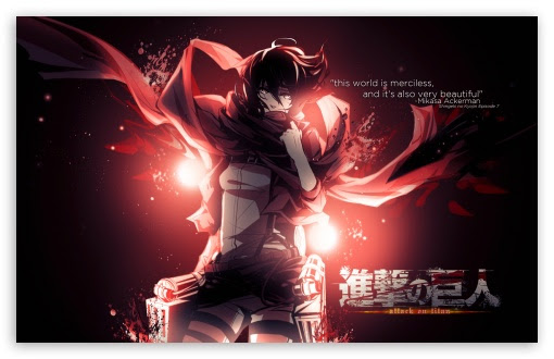 Wallpaper Full Hd Mikasa Ackerman Gambarku