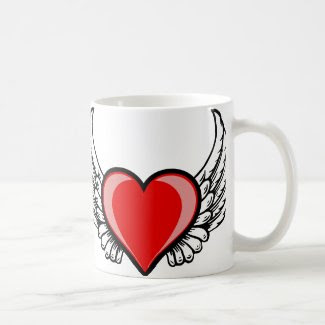 Flying Heart Coffee Mug