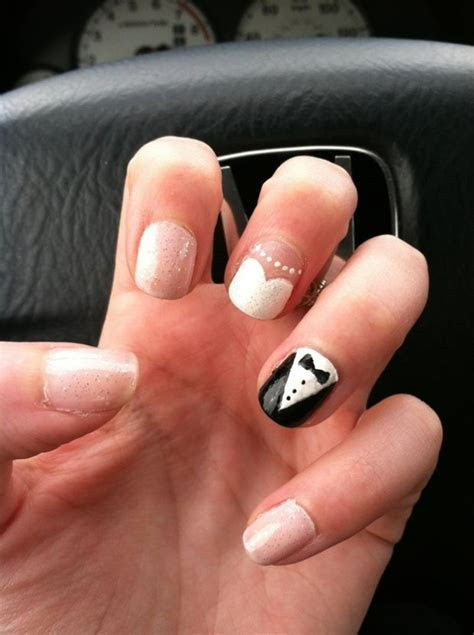 24 Delightfully Cool Ideas For Wedding Nails   Style
