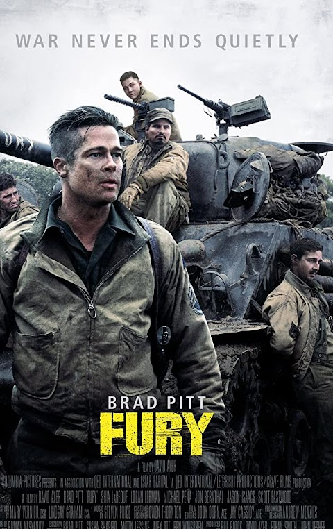 Fury (2014) 480p 720p 1080p BluRay Dual Audio (Hindi+English) Full Movie