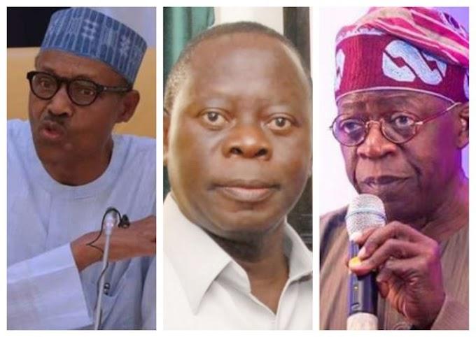 APC Internal Crisis!!! Buhari, Oshiomhole Or Tinubu – Who Exactly Is To Blame?