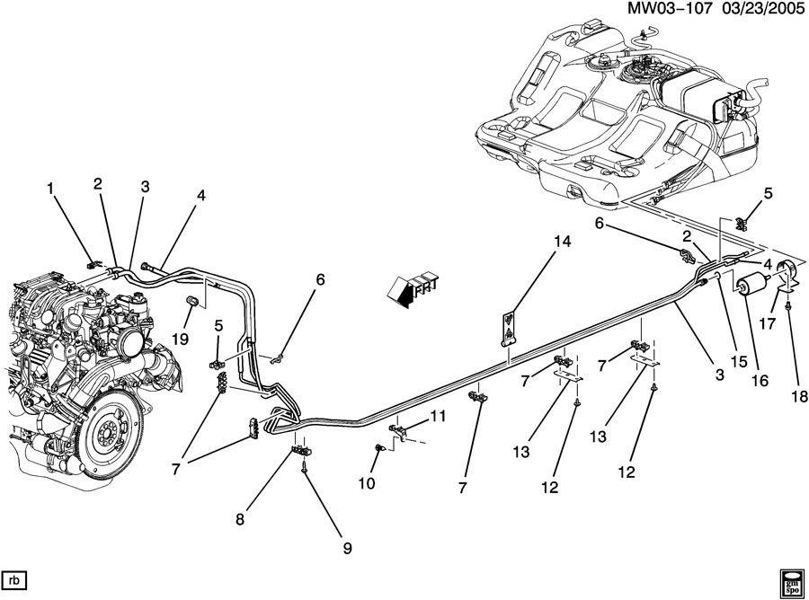2001 Buick Lesabre Serpentine Belt Diagram