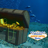 Everyone can Win During Jackpot Capitals Sunken Treasure Casino Bonus Give Away
