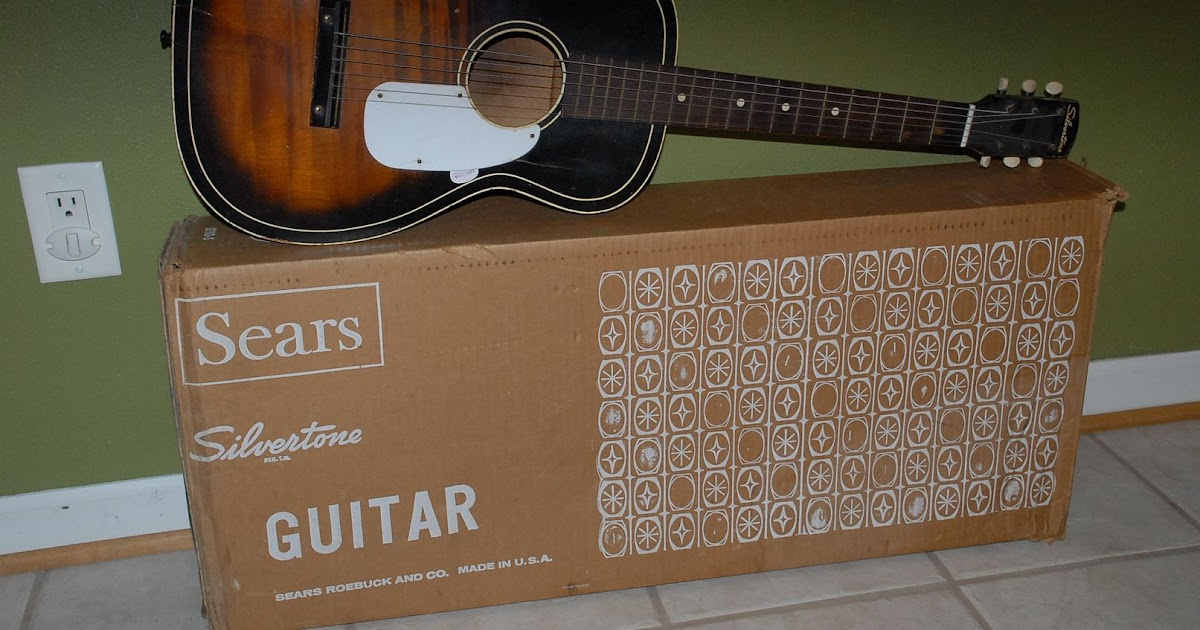 Craigslist Vintage Guitar Hunt: Vintage 60's Silvertone ...