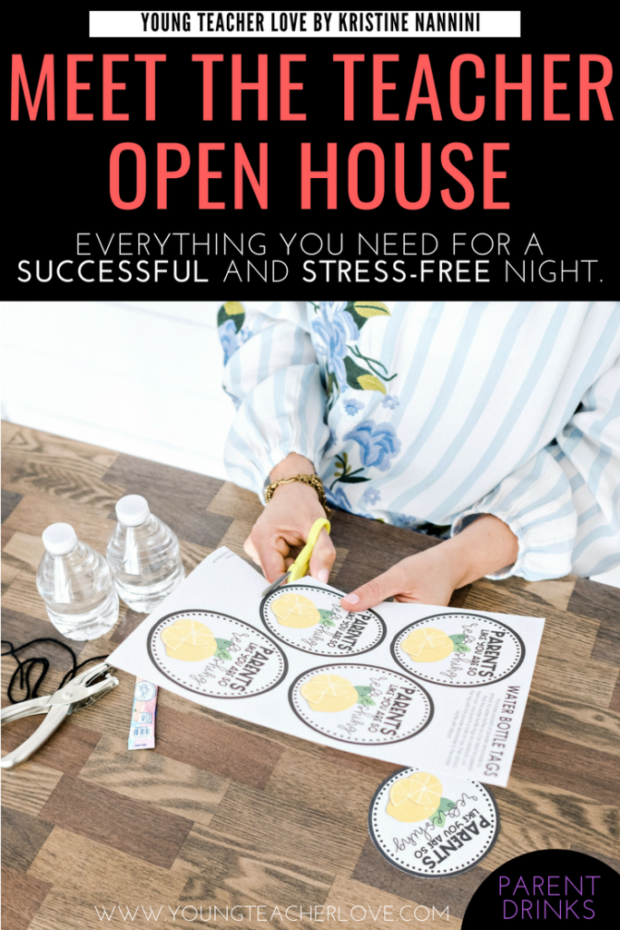 How To Plan Your Meet The Teacher Open House Night Young Teacher Love
