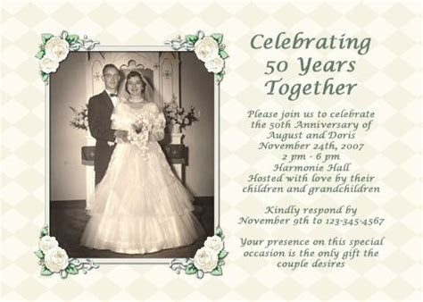 Parents' 50th Wedding Anniversary Party Ideas   Wedding