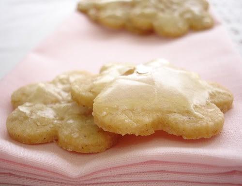 Orange-spice glazed cookies