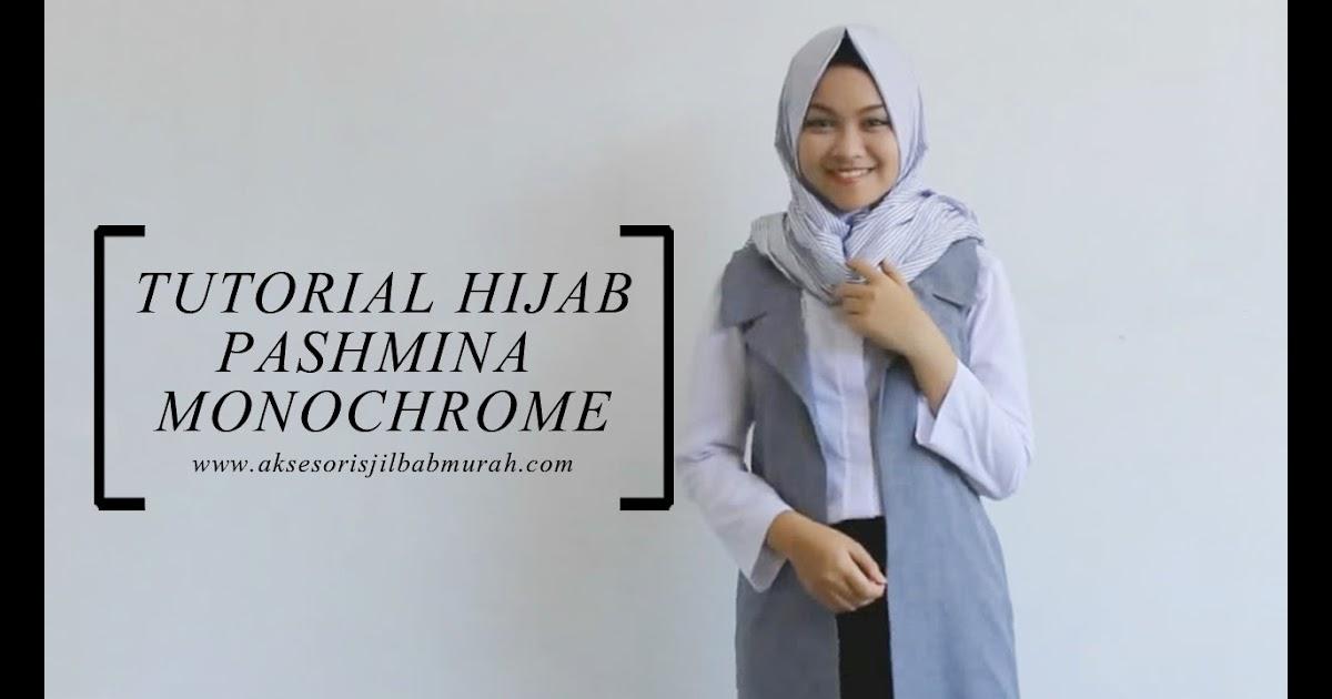 Tutorial Hijab Paling Dicari Hijabers 82 Gambarnya Tutorial Hijab Pashmina Kaku Simple Sayang Dilewatkan