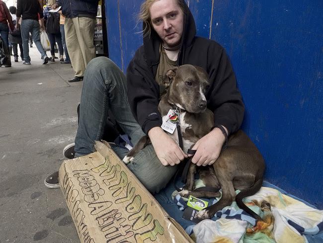 Man and Dog, nyc