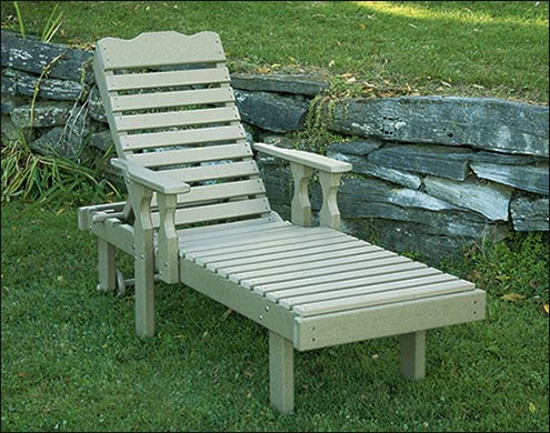 Wood Chaise Lounges | Outdoor Steamer Chairs - Fifthroom