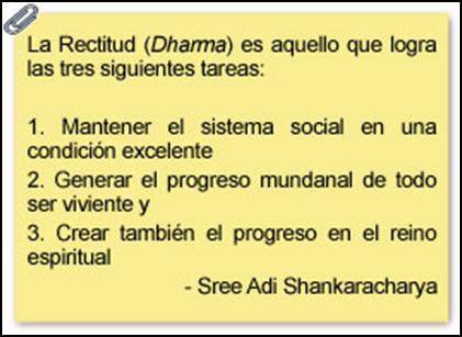 Definicion de Rectitud (Dharma)