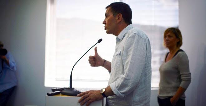 El secretario de Sortu y candidato de EH Bildu, Arnaldo Otegi. REUTERS/Vincent West