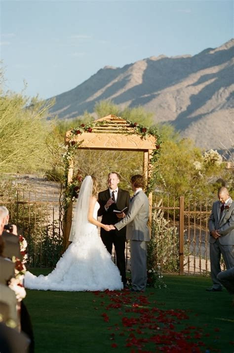 Outdoor Mountain Wedding Ceremony From Carrie Patterson