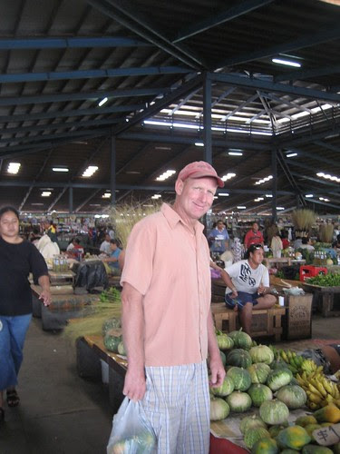 Apia food market