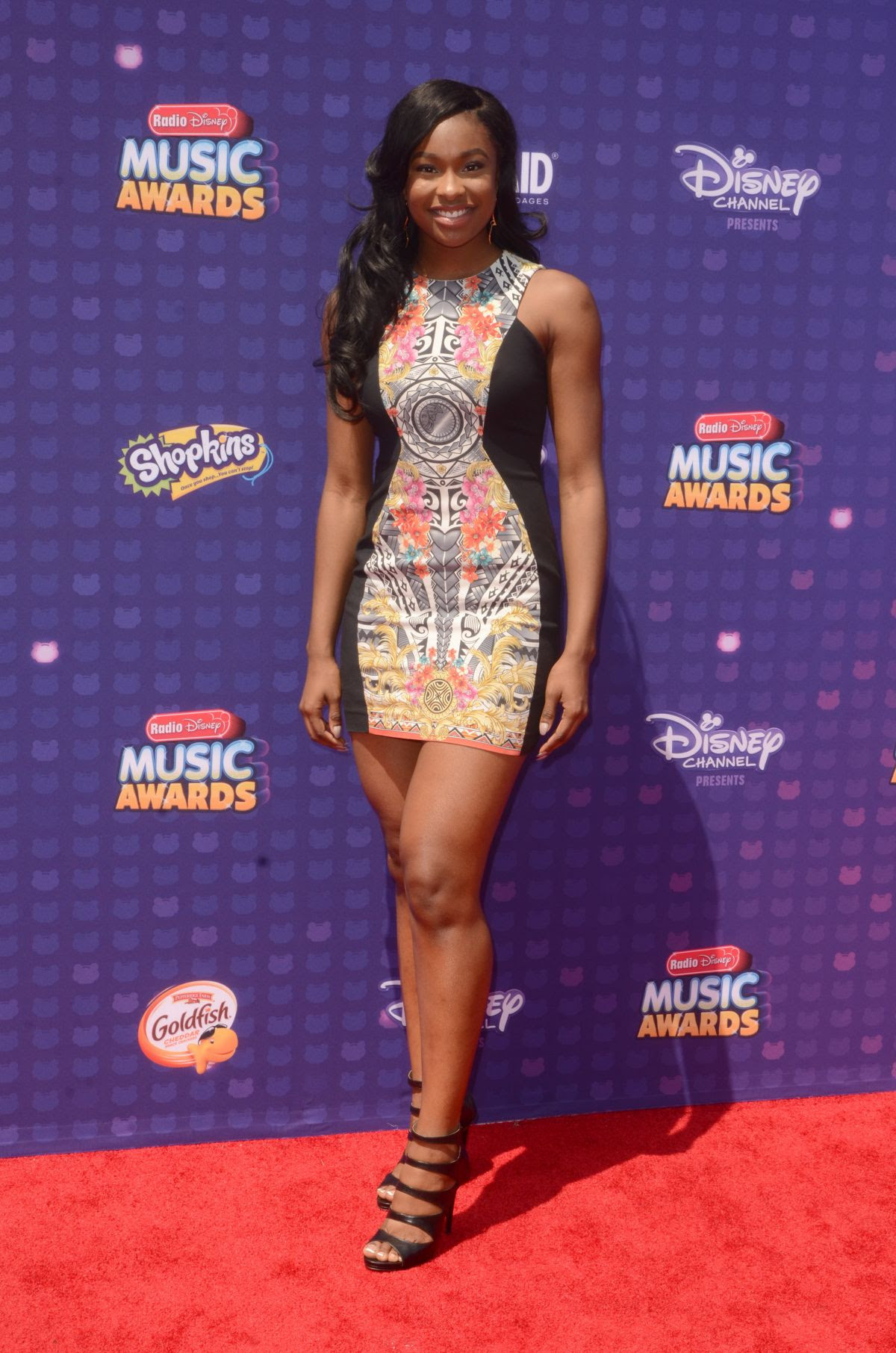 COCO JONES at 2016 Radio Disney Music Awards in Los Angeles 04/30/2016
