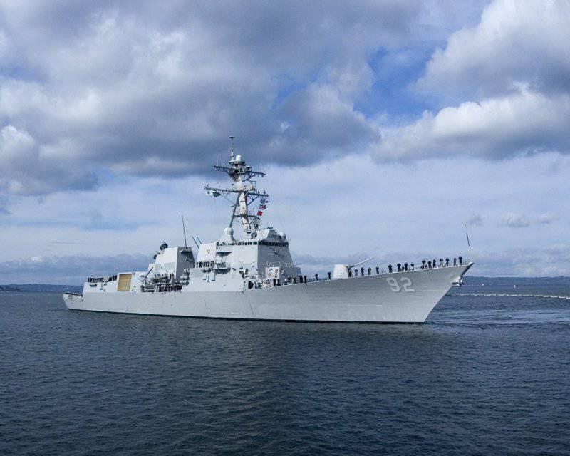 Корабли НАТО в Чёрном море - попытка спасти лицо перед украинскими подопечными