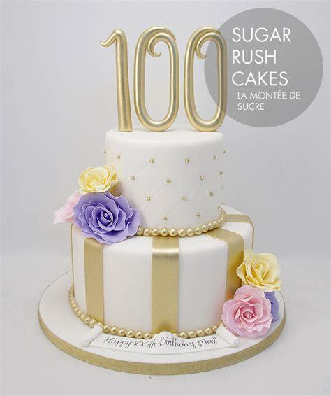 100th anniversary cake
