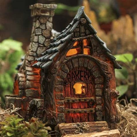 Fiddlehead Fairy Village Bakery   What's New   Dollhouse