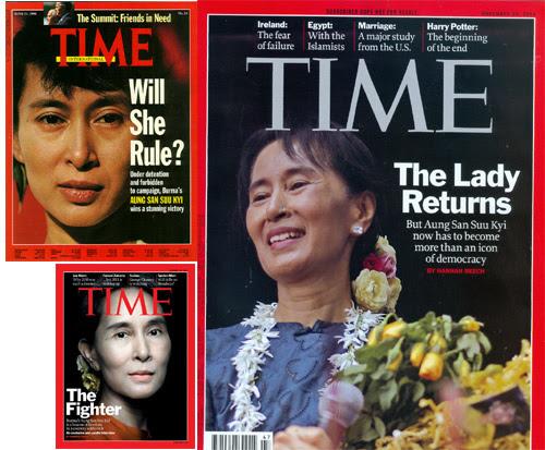 Nelson Mandela, Aung San Suu Kyi, Myanamar