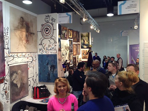 Miriam's booth @ ArtExpo New York 2013