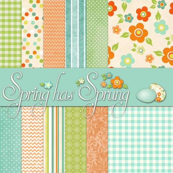 Printable Easter papers