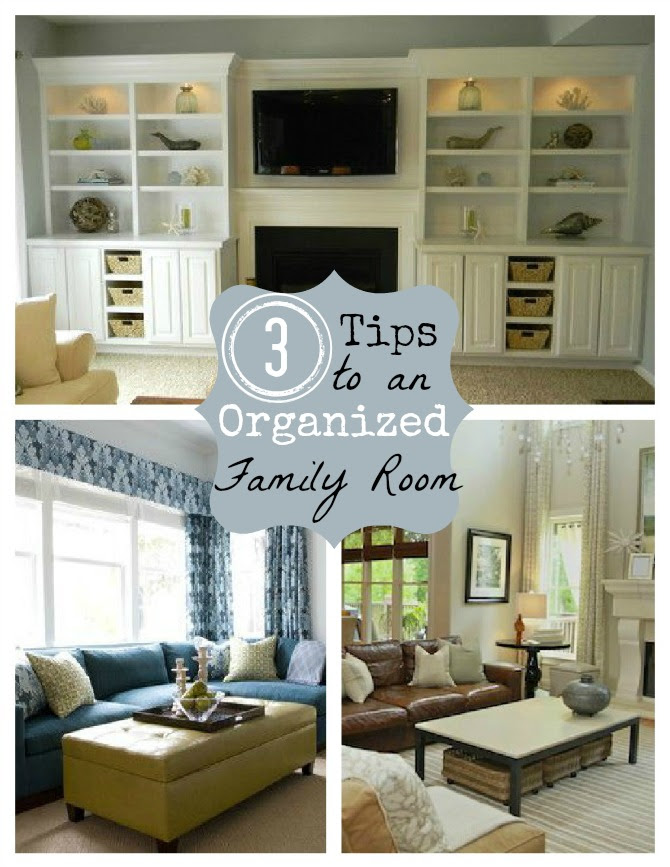3 Creative Storage Solutions for the Family Room - Home Stories A to Z