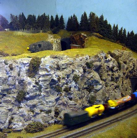 Rat on Model Railway