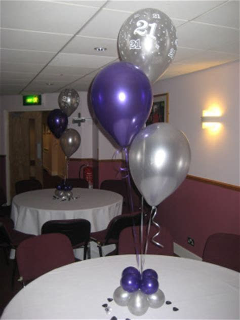 Balloons for table centrepieces for any occasions from