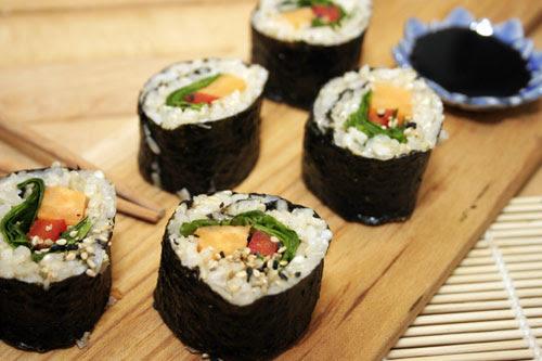 Sweet Potato Sushi with Brown Rice   Choosy Beggars