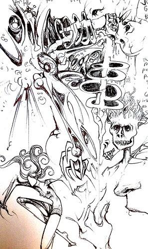 ORYCON 2011 sketchbook