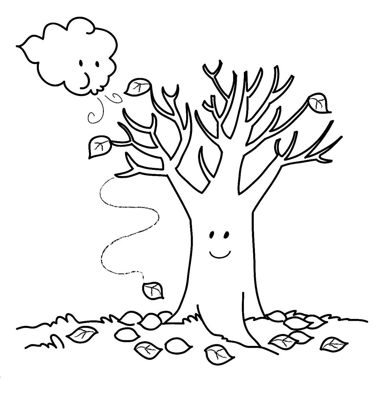 Fall Coloring Pages Printable | Activity Shelter