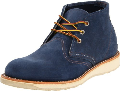 Red Wing Heritage Men's Classic Work Suede Chukka Boot,Blueberry Muleskinner,9.5 D US