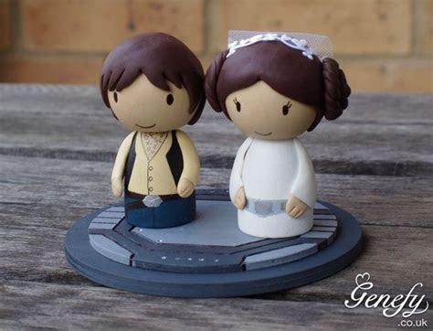 Cute STAR WARS Wedding Cake Topper Princess by