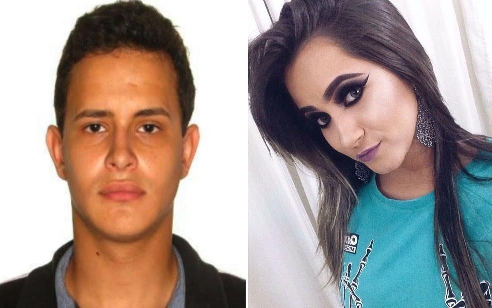 Casal de namorados é morto a tiros  em Aparecida de Goiânia; polícia apura o caso (Foto: Reprodução/TV Anhanguera)